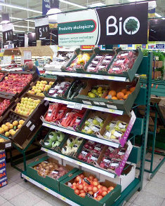 Demand for organic produce is growing in Europe.
