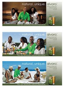 Print advertisements for Alvaro