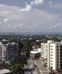 The Republic of the Congo's capital Brazzaville.