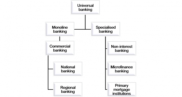 """Draft document of proposed changes to the current """"Universal Banking Policy: available licences"""