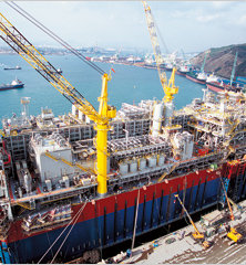 Angola's economy is heavily dependent on its oil industry although government is trying to boost other sectors.