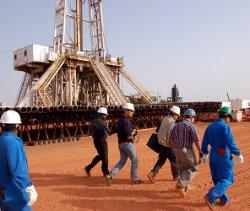 Sudan oil fields