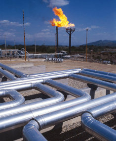 Kenya is hoping to find gas in commercial quantities.