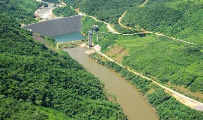 The Bumbuna hydropower plant