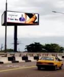 Billboards are a popular advertising medium in Nigeria.