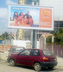 A Unitel billboard