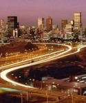 Johannesburg's skyline. South Africa remains the most competitive country in Sub-Saharan Africa.