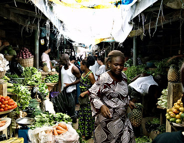 Many of Nigeria's markets are being redeveloped into more modern facilities.