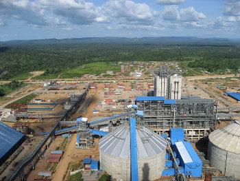 Dangote's Obajana cement plant in Nigeria