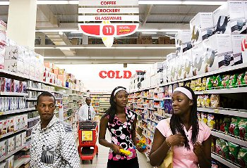West Africa's growing middle class has boosted demand for consumer goods.