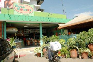The outside of a Kula Korner restaurant
