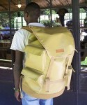 The Backpack Farm packaged with all the essential agriculture inputs such as seed, crop protection products and irrigation equipment.