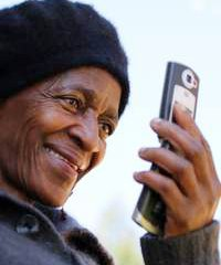 Around 18% of South Africans now use their mobile phones to transfer money.