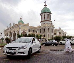 Holland Car's Awash Executive model in Addis Ababa.