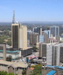 Many foreign companies are running their African operations from Kenya's capital Nairobi.
