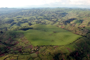 The DRC has vast areas of unexploited land.