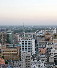 Dar es Salaam will be Africa's fastest growing city.