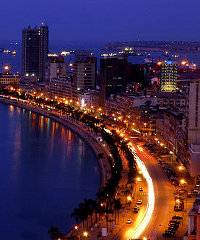 Angola's capital Luanda is expected to see strong economic growth over the next five years.