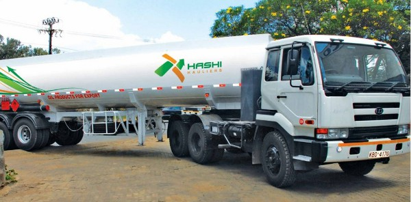 Hashi Hauliers, a sister company of Hashi Energy, operates 40 trucks that handle the transportation of products.