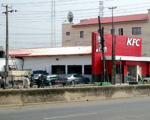 A KFC outlet in Nigeria.