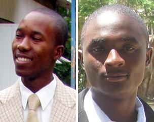 Daniel Chiwinga (left) and Kondwani Chimatiro