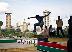 Nairobi, Kenya. By 2030, the majority of Africans will live in cities.