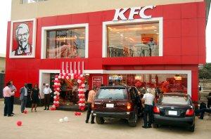 A KFC outlet in Ibadan, Nigeria.