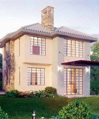An artist's impression of a villa at the Sigona Valley development.
