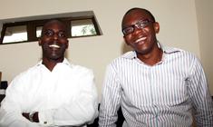 Rancard co-founders, Kofi Dadzie and Ehizogie Binitie
