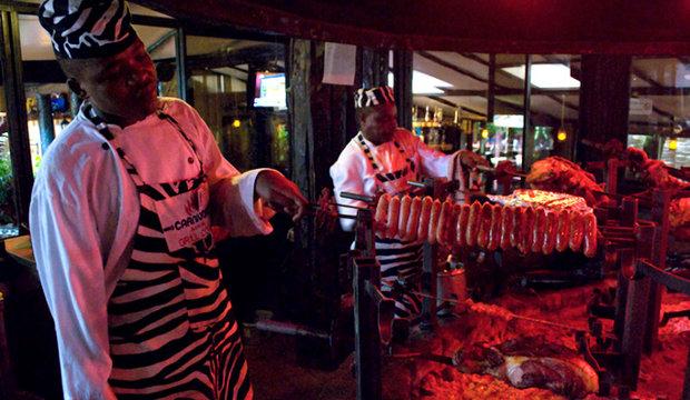 The Tamarind Group's Carnivore restaurant in Nairobi.