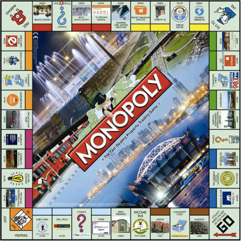 City of Lagos edition of Monopoly 480x480