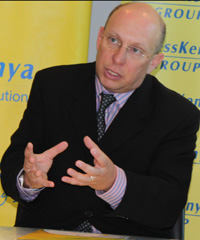 Jonathan Somen is the managing director of AccessKenya.