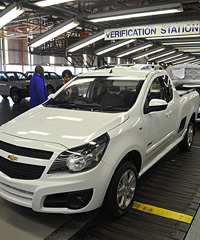 GM has invested US$30 million in establishing a Parts Distribution Centre in South Africa.