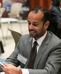 Riaz Currimjee at the IGD Frontier 100 Forum in New York in October 2012.