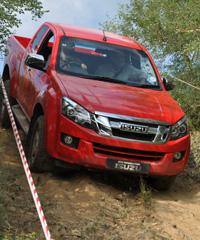 The new Isuzu KB pick-up.