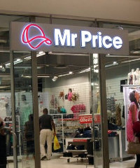 A Mr Price outlet in Ghana. According to McKinsey, in-store environment plays an important role in driving store choice.