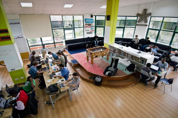 Nairobi's iHub, a co-working space for tech entrepreneurs, has played an important role in promoting the city's startup scene.