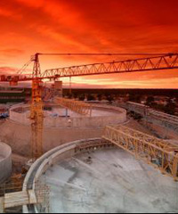 Construction by South African-based engineering and construction group, Stefanutti Stocks Holdings Ltd.