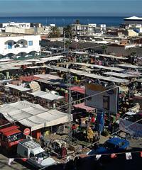 Market of Sayada in Tunisia