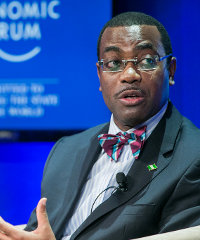 Akinwunmi Adesina, minister of agriculture and rural development of Nigeria
