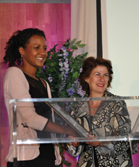 At the launch of the inaugural WIE Africa  (which stands for Women, Inspiration and Enterprise) this week, Isis Nyong'o was recognised for being one of Africa's women leaders who is positively shaping the future of the continent.