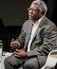 Calestous Juma speaking at the recent World Economic Forum on Africa, held in Cape Town.