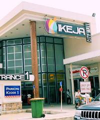 The Ikeja City Mall in Lagos, Nigeria.