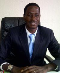 Cheikh Ndoye, DHL country manager for Gabon