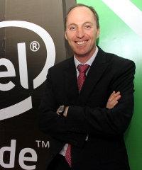 Danie Steyn, East Africa general manager for Intel.