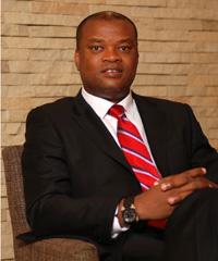 Daniel Monehin, division president for sub-Saharan Africa MasterCard.