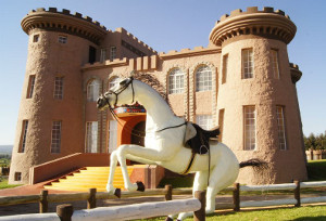 A view of the Tafaria Castle & Country Lodge