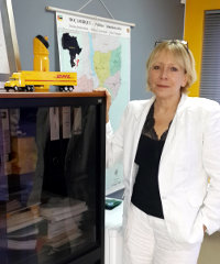 Dominique Lalous, country manager for DHL in Mozambique