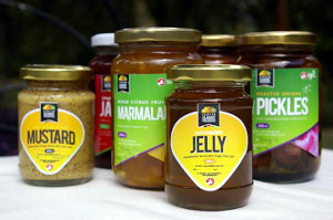 Kenyan Classic Preserves' range of products.