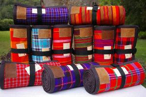 Shuka Duka's range of picnic blankets.